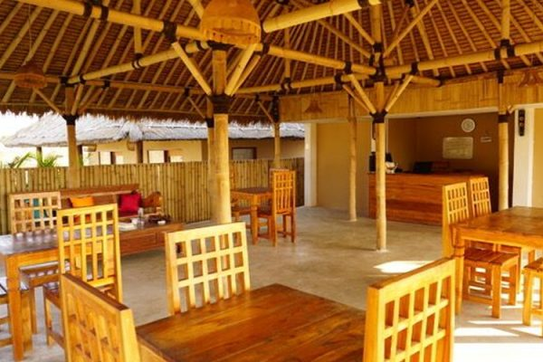 Our cozy restaurant where you meet fellow kitesurfers from all over the world.